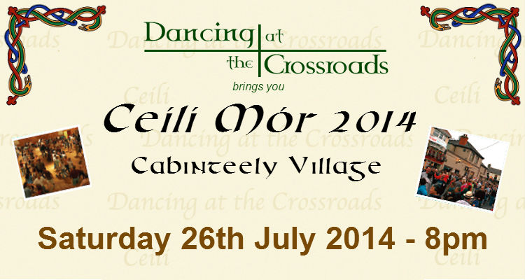 Promo poster for Dancing at the Crossroads 2014
