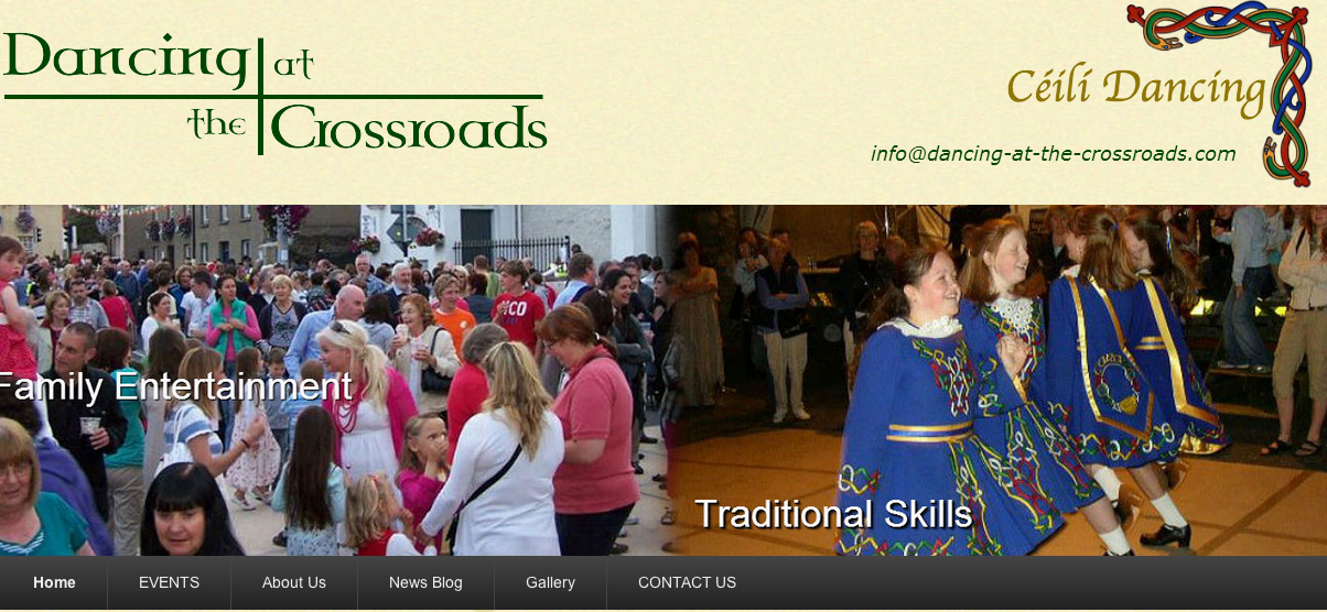 Dancing at the Crossroads homepage image