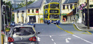 Artists painting of Cabinteely